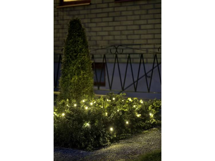 energie A+, LED-lichtnet 32 witte dioden voor buitengebruik, Konstsmide