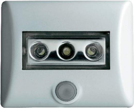 LED Nachtlamp met bewegingsmelder Rechthoekig Wit Wit OSRAM Nightlux 4008321376596