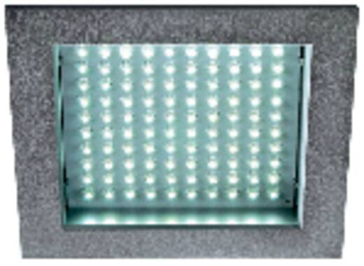 LED-inbouwlamp 8.5 W 230 V Warm-wit LEDpanel 100 160352 Zilver-grijs