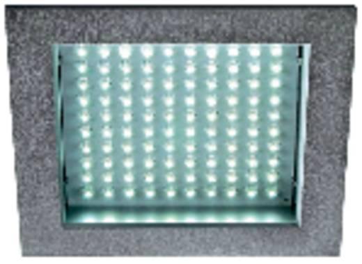 LEDpanel 100 160352 LED-inbouwlamp 8.5 W Warm-wit Zilver-grijs