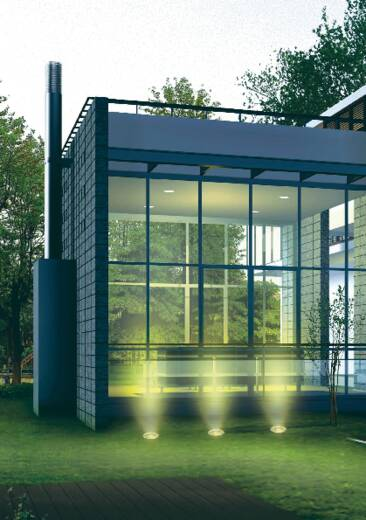 Bodeminbouwverlichting 575647SpaarlampRVSGX53