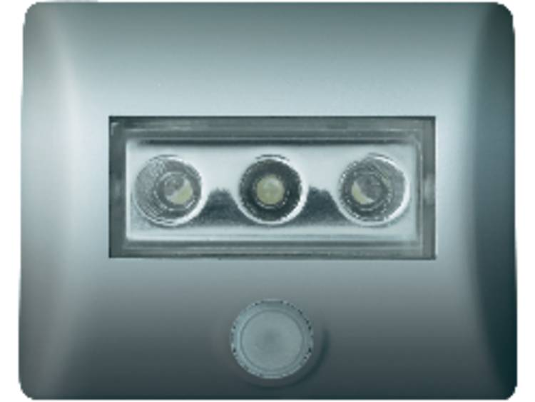Praktische nachtlampje Nightlux, zilver