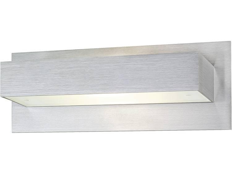 Moderne wandlamp Tani van geborsteld aluminium