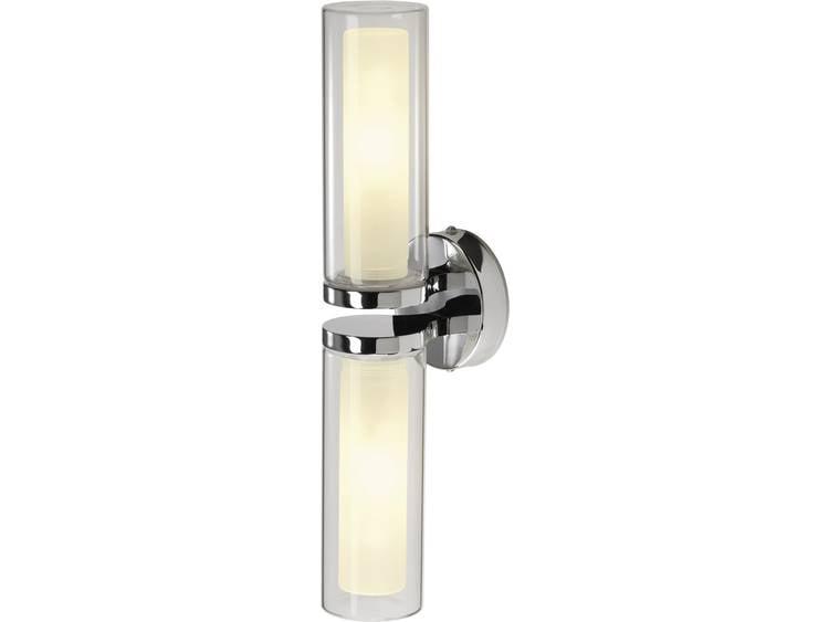 Badkamer Wandlamp Chroom : Badkamer wandlamp agape 1 chroom globosplaza.com