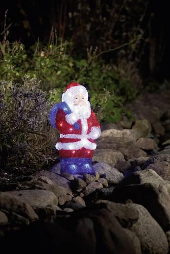 Konstsmide 6153-203 Acryl figuur Kerstman LED Meerkleurig