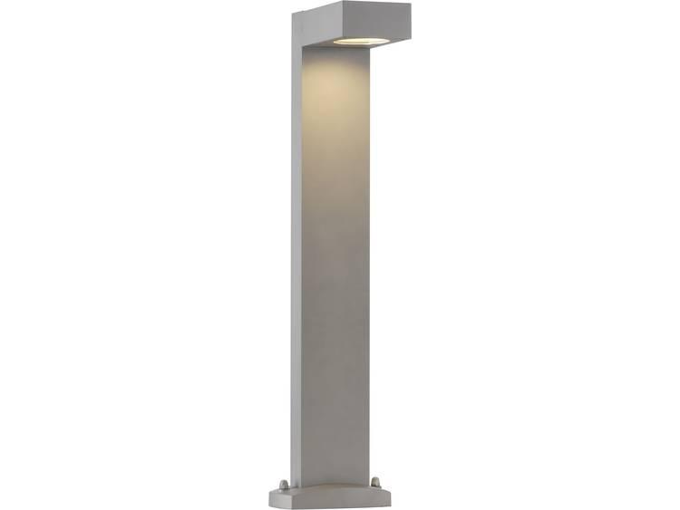 SLV Quadrasyl 75 gr Staande buitenlamp Spaarlamp GX53 11 W 232294 Zilver-grijs