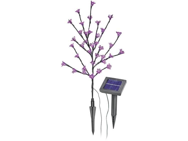Led-bloemenstruik op zonne-energie