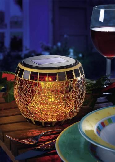 "Esotec Design-solar-mozaïeklamp ""Brilliant"" 102066 LED Max. 8 h Bruin LED vast ingebouwd"