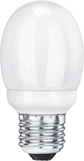Sygonix Spaarlamp 88 mm 230 V E27 7 W = 30 W Warm-wit Energielabel: n.v.t. Bol Inhoud: 1 stuks