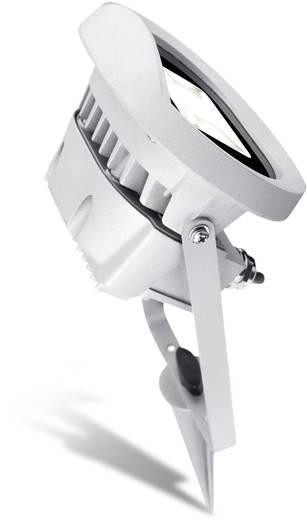 LED-buitenschijnwerper 12 W Neutraal wit Sygonix 34629D Zilver-grijs