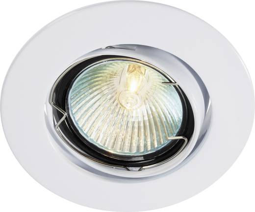 Inbouwlamp Halogeen G5.3 35 W Wit Basetech CT-3107 MR16, white
