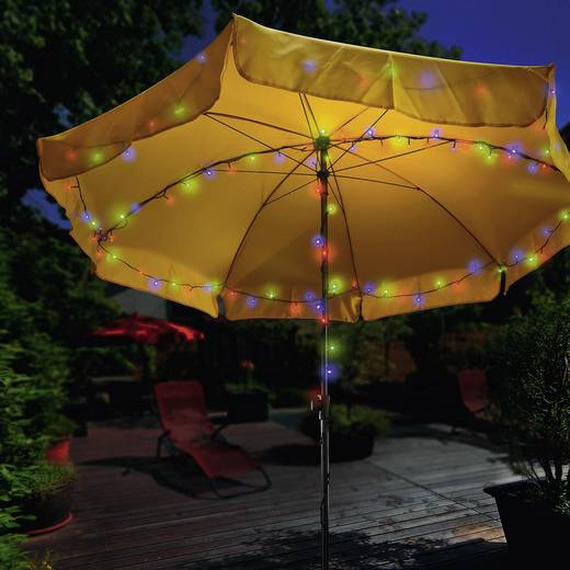 10 m Solar-lichtketting LED Bont Esotec 102103