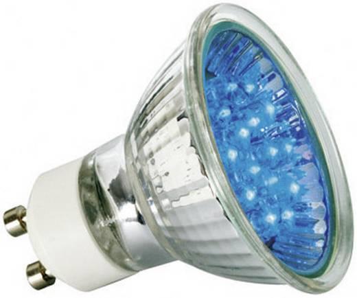 LED-lamp GU10 Reflector 1 W Blauw (Ø x l) 51 mm x 55 mm Energielabel: A Paulmann 1 stuks