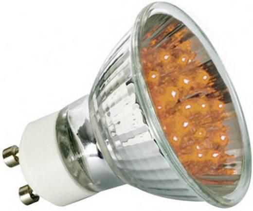 Paulmann LED GU10 Reflector 1 W Oranje (Ø x l) 51 mm x 55 mm Energielabel: A 1 stuks