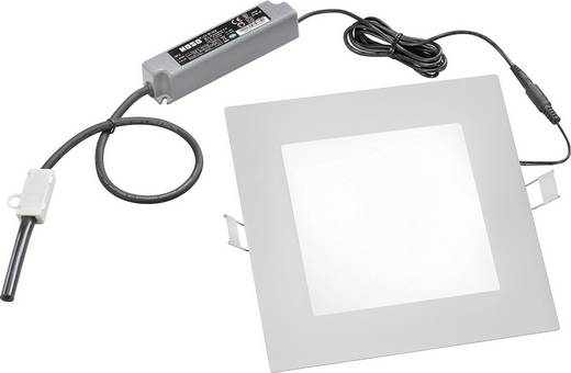 Esotec 201282 LED-inbouwlamp 1 W Neutraal wit Grijs