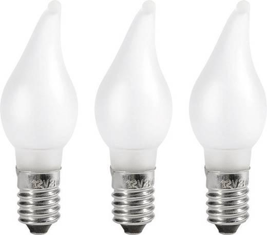 Konstsmide reservelamp kerstmis 12 V E10 3 W Warmwit
