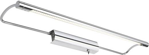 LED-schilderijlamp 10 W Warmwit Paulmann Wolbas 99077 Chroom