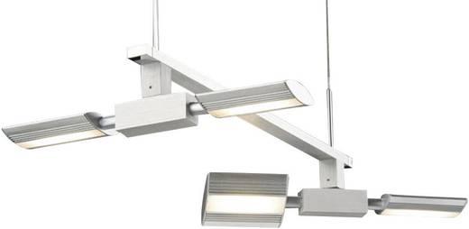 LED-pendellamp 20 W Paulmann NanoLED 70219 Aluminium (geborsteld)