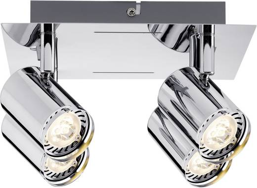 Plafondspot LED GU10 14 W Paulmann Rondo 60185 Chroom