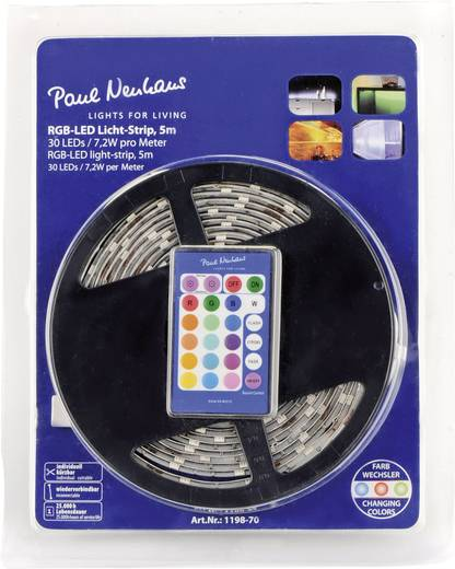 LED-strip complete set RGB met stekker 230 V 500 cm Paul Neuhaus 1198-70