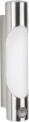Buitenwandlamp met bewegingsmelder E27 11 W Philips Ecomoods Bamboo 163404716 RVS