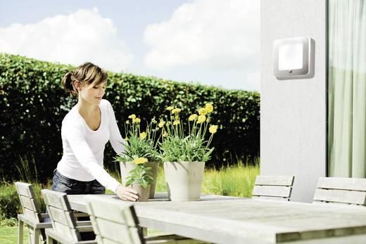 Buitenwandlamp met bewegingsmelder 2GX13 22 W Philips Ecomoods Orchard 169024716 RVS