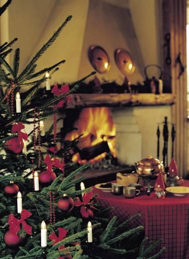 Konstsmide 2010-000 Kerstboomverlichting Binnen Werkt op het lichtnet 16 Gloeilamp Warmwit 9.1 m