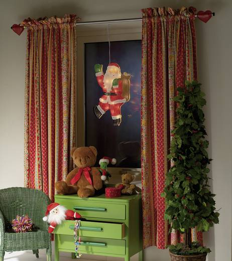Verlichte kerstman