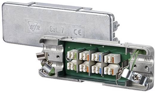 Metz Connect 130863-E Verdeeldoos Flexibel: - Massief: 0.128-0.325 mm² Aantal polen: 8 1 stuks Zilver