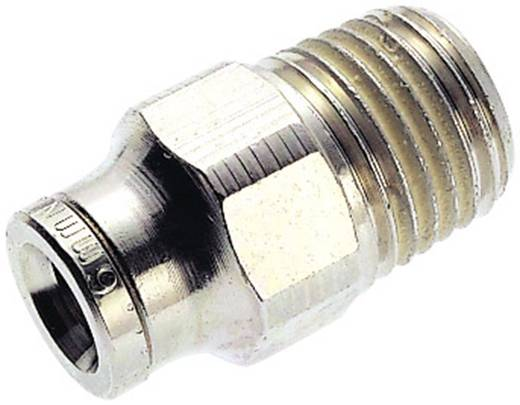 Norgren Rechte koppeling Schroefdraad (buiten): R1/4 Buis-Ø: 10 mm