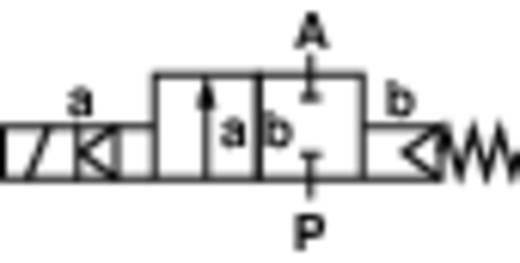 Busch Jost 8253100.8001.02400 2/2-weg Mechanisch bedienbaar pneumatisch ventiel 24 V/DC G 3/8 Nominale breedte 10 mm Materiaal (behuizing) Messing Afdichtmateriaal FPM In rust gesloten