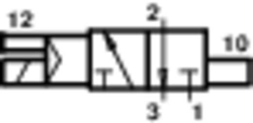 Norgren V61B413A-A213L Mechanisch bedienbaar pneumatisch ventiel 3/2-weg 24 V/DC G 1/4 Materiaal (behuizing) Aluminium Afdichtmateriaal NBR In rust gesloten
