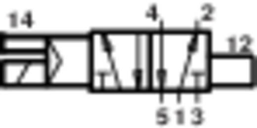 Norgren V61B513A-A213L Mechanisch bedienbaar pneumatisch ventiel 5/2-weg 24 V/DC G 1/4 Materiaal (behuizing) Aluminium