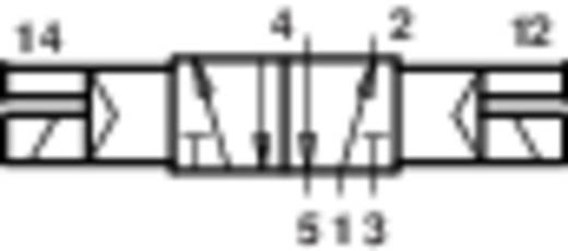 Norgren V60A511A-A313L Mechanisch bedienbaar pneumatisch ventiel 5/2-weg 24 V/DC G 1/8 Materiaal (behuizing) Aluminium Afdichtmateriaal NBR