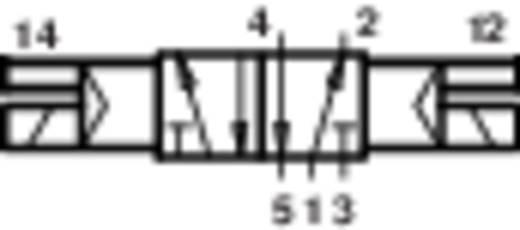 Norgren V60A511A-A313L Mechanisch bedienbaar pneumatisch ventiel 5/2-weg 24 V/DC G 1/8 Materiaal (behuizing) Aluminium