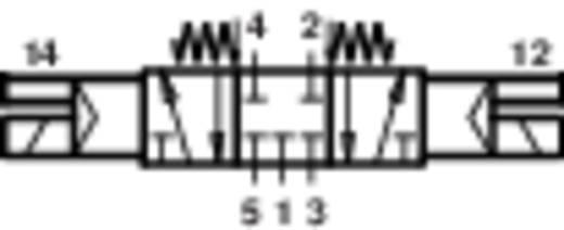 Norgren V61B611A-A213L Mechanisch bedienbaar pneumatisch ventiel 24 V/DC G 1/4 Materiaal (behuizing) Aluminium Afdicht
