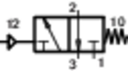 Norgren V60A4D7A-X5090 Mechanisch bedienbaar pneumatisch ventiel 3/2-weg 24 V/DC G 1/8 Materiaal (behuizing) Aluminium Afdichtmateriaal NBR In rust gesloten