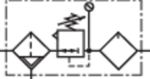 "Norgren BL72-225G Onhouderhoudseenheid 1/4"" Perslucht Operationele druk (max.) 10 bar"