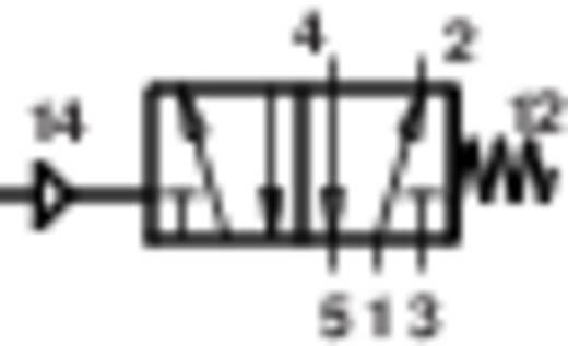 Norgren V61B5D7A-X5090 Mechanisch bedienbaar pneumatisch ventiel 5/2-weg 24 V/DC G 1/4 Materiaal (behuizing) Aluminium Afdichtmateriaal NBR