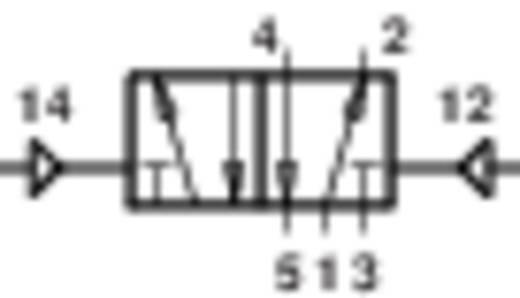 Norgren V60A5DDA-X5020 Mechanisch bedienbaar pneumatisch ventiel 5/2-weg 24 V/DC G 1/8 Materiaal (behuizing) Aluminium