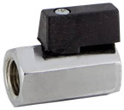 """Norgren 601112228 Standaard kogelkraan Schroefdraad (binnen): 1/4"""" Schroefdraad (buiten): 1/4"""" 10 bar (max)"""