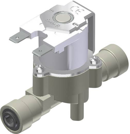 RPE 1136NC 230VAC Waterventiel NC geschikt voor drinkwater met FOOD-keur. Aansluiting met push-in 6mm