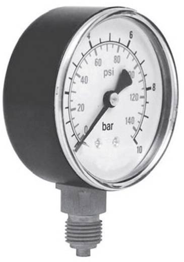 """ICH 3016310 Manometer ø63 onder aansluiting 1/4"""", bereik: 0~10 bar"""