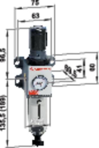 Norgren EXCELON® PRO Filterregelaar Perslucht Operationele druk (max.) 12 bar