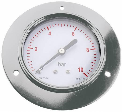 "ICH 3044010 Manometer ø40 paneelmontage 1/8"", bereik: 0~10 bar"