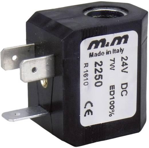 M & M International 2700 Spoel 230V50 - 240V60, opgenomen vermogen 10VA