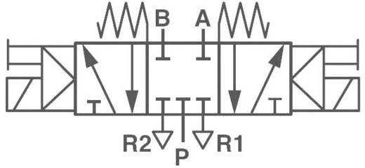 Norgren V50A611A-A213A Mechanisch bedienbaar pneumatisch ventiel 24 V/DC G 1/8 Materiaal (behuizing) Aluminium Afdichtmateriaal NBR