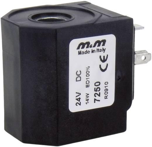 M & M International 7250 Spoel 7 M&M 24Vdc, 14 Watt