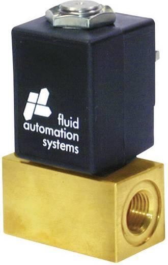 Norgren 04-311-102-21+EDC+ACC 2/2-weg Direct bedienbaar pneumatisch ventiel 24 V/DC G 1/8 Materiaal (behuizing) Messing, RVS Afdichtmateriaal FPM