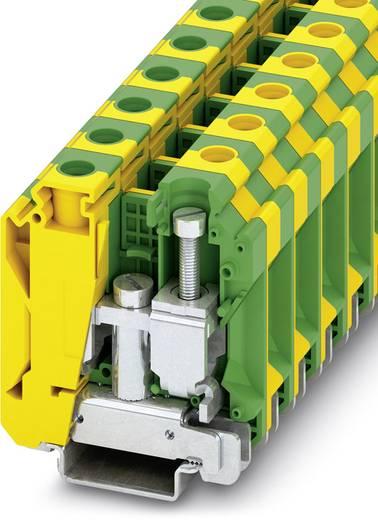 Phoenix Contact USLKG 35 N USLKG 35 N - randaarde-serieklem Groen-geel Inhoud: 50 stuks
